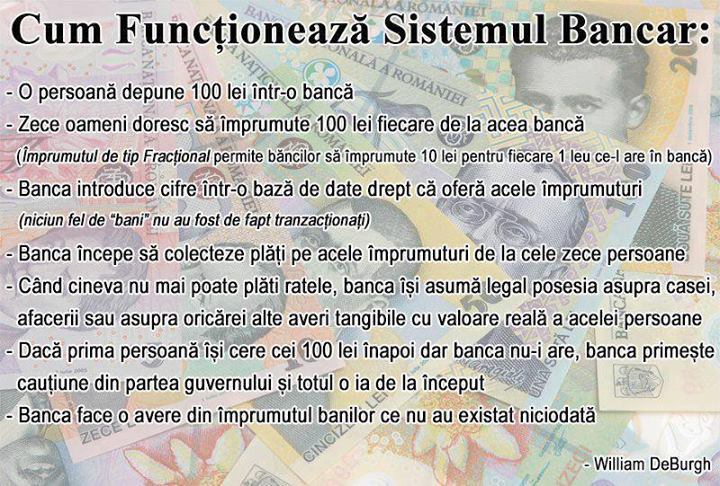Cum functioneaza sistemul bancar