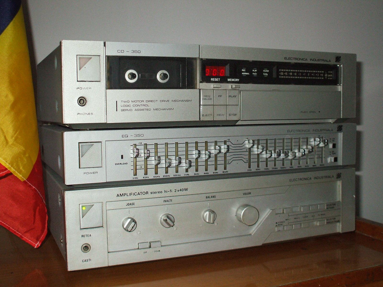 Linie Audio Electronica Industriala