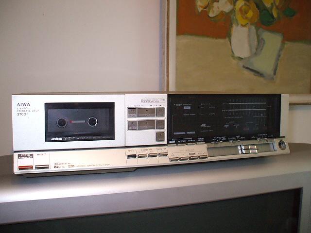 Stereo Cassette Deck AIWA AD 3700