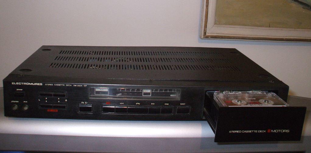 Stereo Cassette Deck EM 2004-SP ELECTROMURES