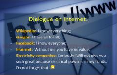 Dialog pe internet