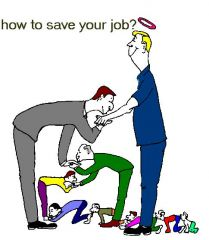How to save your job ???