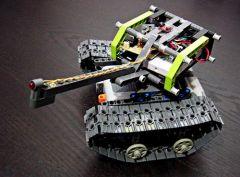 PicAxe LEGO tank