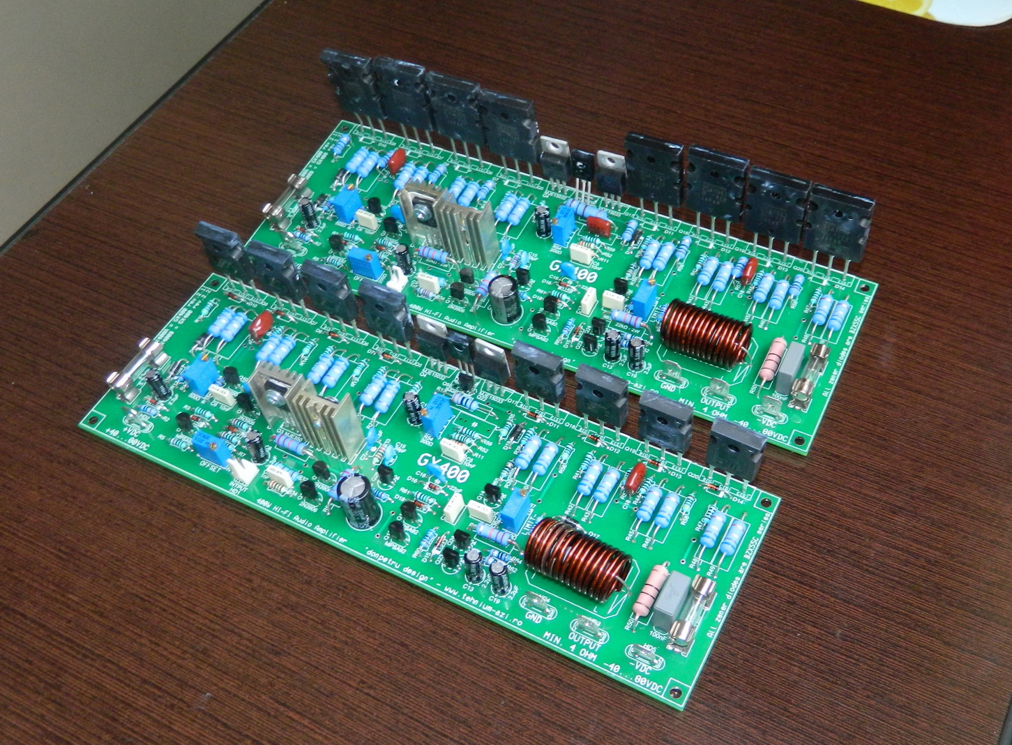 GX400A Si GX400B
