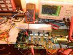 1KHz sinus 4 Ohm modernizare WG-9909 revizia nr.1 cu posibilitatea reglari curentului de mers in gol.JPG