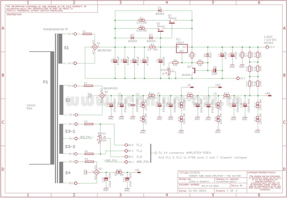 PSU Schematic TUBE TEHNIUM Amplifier rev.5.png