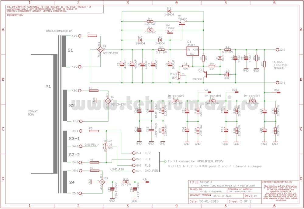 PSU Schematic TUBE TEHNIUM Amplifier rev.4.png