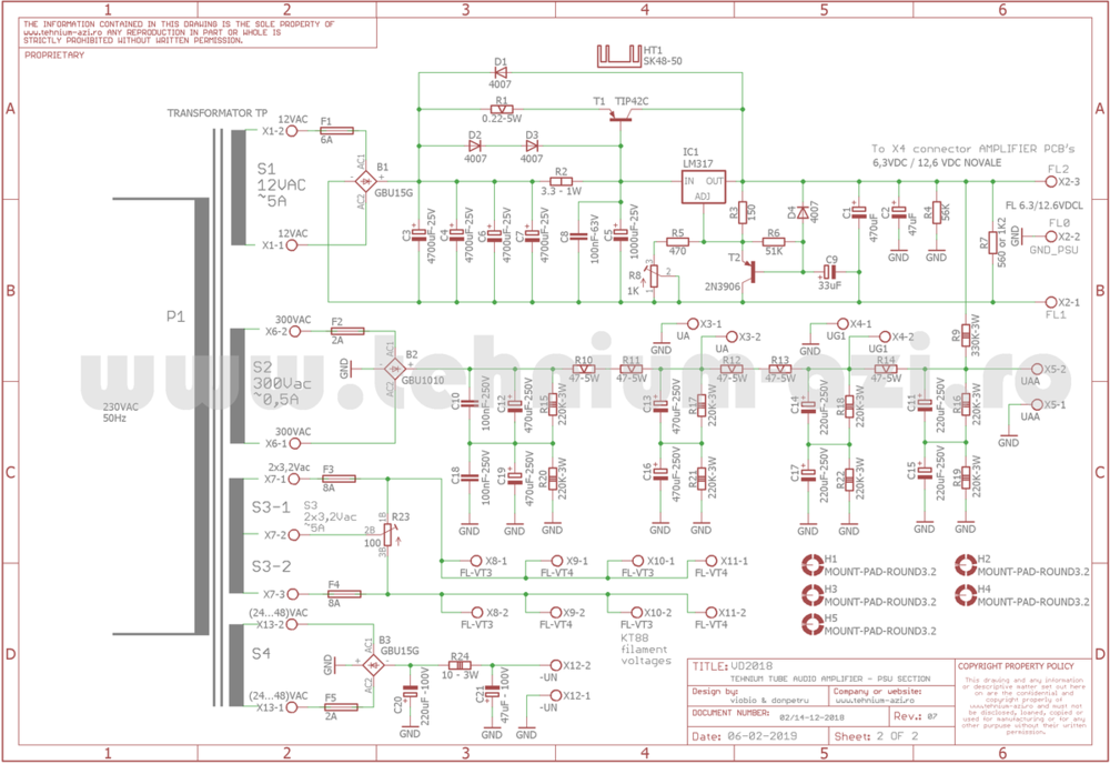 PSU Schematic TUBE TEHNIUM Amplifier rev.7.png