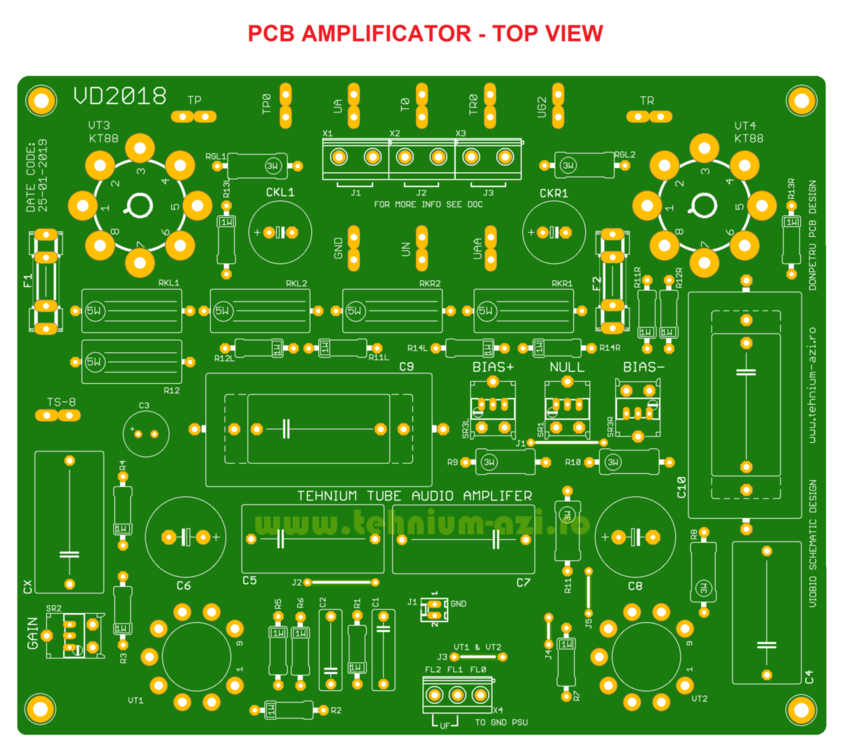 PCB AMP Top View - Tehnium TUBE Audio Amplifier.png