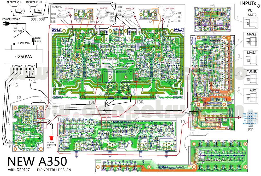 Conexiuni placi noului A350.jpg